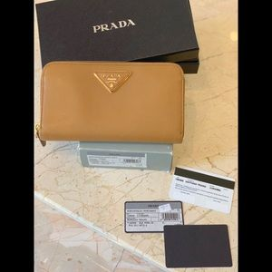 Prada Bags - PRADA WALLET %100 Authentic